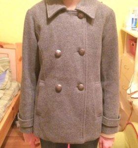 Пальто шерстяное 134