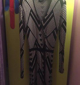 Трикотажное платье Гланц