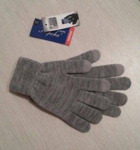 перчатки для сенсора новые