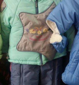 Новый зимний комбинезон-костюм трансформер