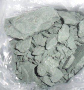 Целебная голубая глина. Цена за килограмм!