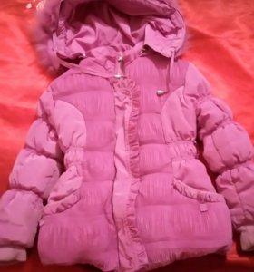 Курточка тёплая 1,5-3года