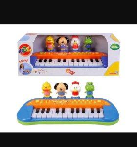 """Пианино """"веселая ферма"""".новое"""