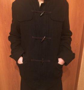 """Пальто чёрное, мужское""""Zara"""",размер M"""