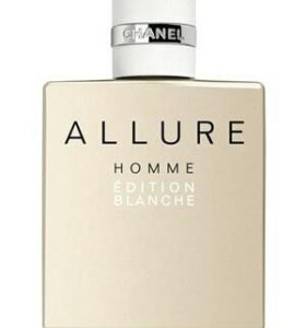 Chanel Allure Homme Edition Blanche. Объём 100ml