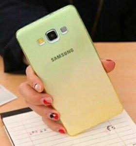 Чехол силиконовый Samsung a3 2015