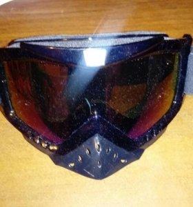Очки для мотокросс