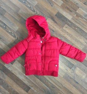 Куртка детская мальчик 5-6 лет (зима)