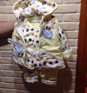Детский костюмчик на тёплую весну.
