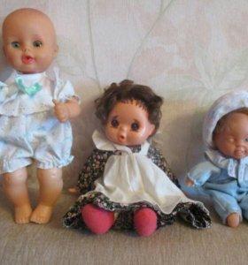 Куклы пупсы.