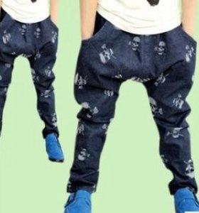 брюки-шаровары новые