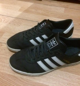 Adidas Hamburg Premium Black/White