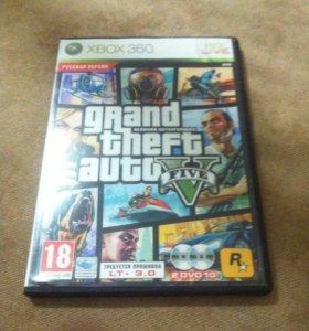 Диск для Xbox 360 Gta 5