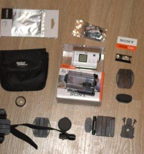 Sony HDR AS200V с комплектом аксессуаров