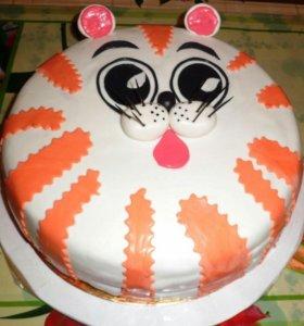 Домашние тортики для вас..