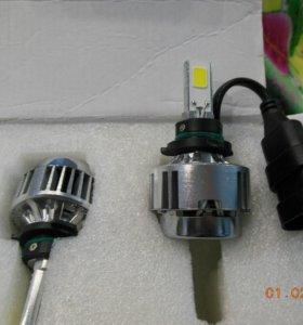 Светодиодные лампы с цоколем Н7 Н1 и HB4. 30 ватт