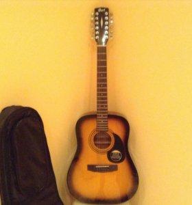 Акустическая 12-ти струнная гитара Cort.