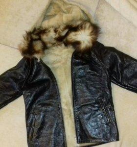 Куртка,дубленка новая