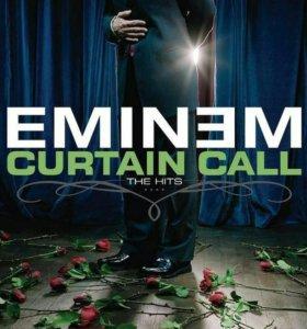 """Eminem """"Curtian Call"""" CD альбом"""