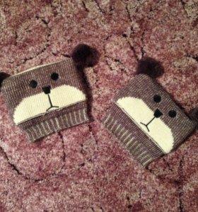 """""""Мишки"""" - отвороты на ботинки"""