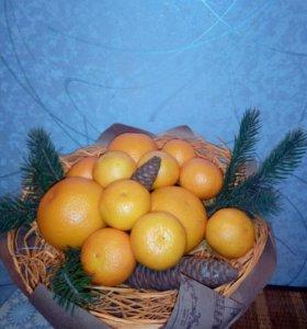 Фруктово Овощные букеты под заказ