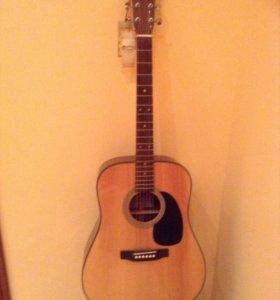 Акустическая гитара-Sigma DM-1ST.