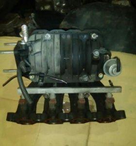 Впускной коллектор шевроле лачетти
