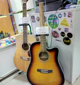 Акустическая гитара в наличии