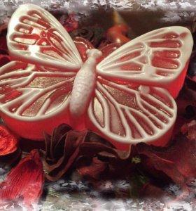 Мыло ручной работы Бабочка
