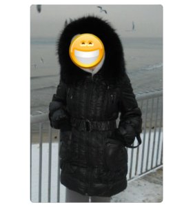 Пуховик 44-46р