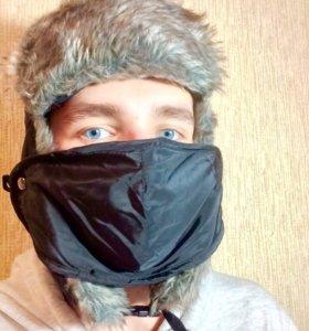 Ушанка-зимняя маска