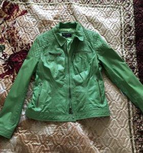 СРОЧНО продам Новая кожаная куртка