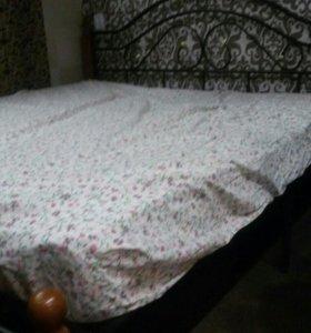 Кровать+ортопед.матрас