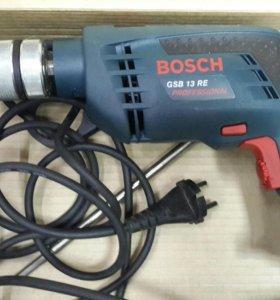 Дрель Bosch GSB 13 RE