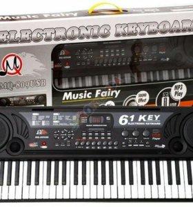 Электронное Пианино-синтезатор MQ-809USB с микрофо