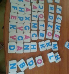 русские и английские буквы