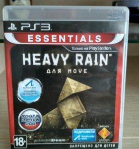 """Диск для PS3 """"Heavy rain"""""""