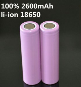 Новые Аккумуляторы samsung 18650
