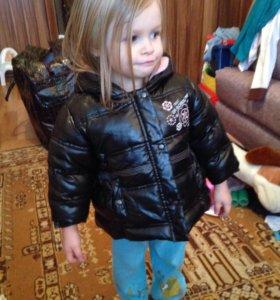 Курточка на флисе.