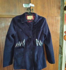 Ветровка пиджак велюр