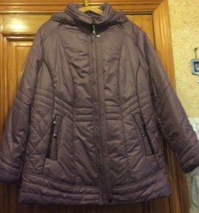 Куртка женская на синтепоне с капюшоном