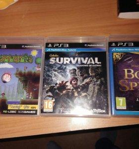 PlayStation 3 slim(12gb)+3 игры+p.s. aye