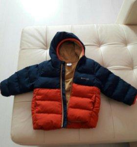 Куртка теплая демисезонная