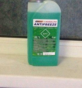 Антифриз зеленый 1 кг