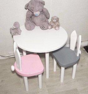 Детский стул стол