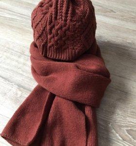 Шапка+ шарф