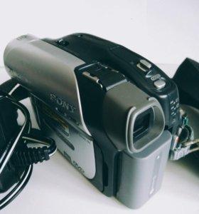 Видеокамера sony handycam DCR-DVD92E