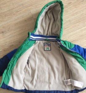 Куртка демисезонная 74-80р