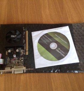 Видеокарта новая в упаковке 512 mb