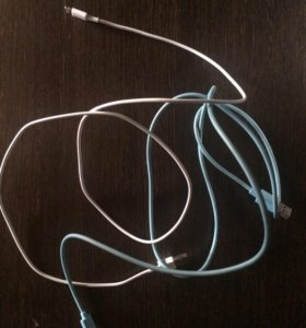 Наушники, кабель для iPhone